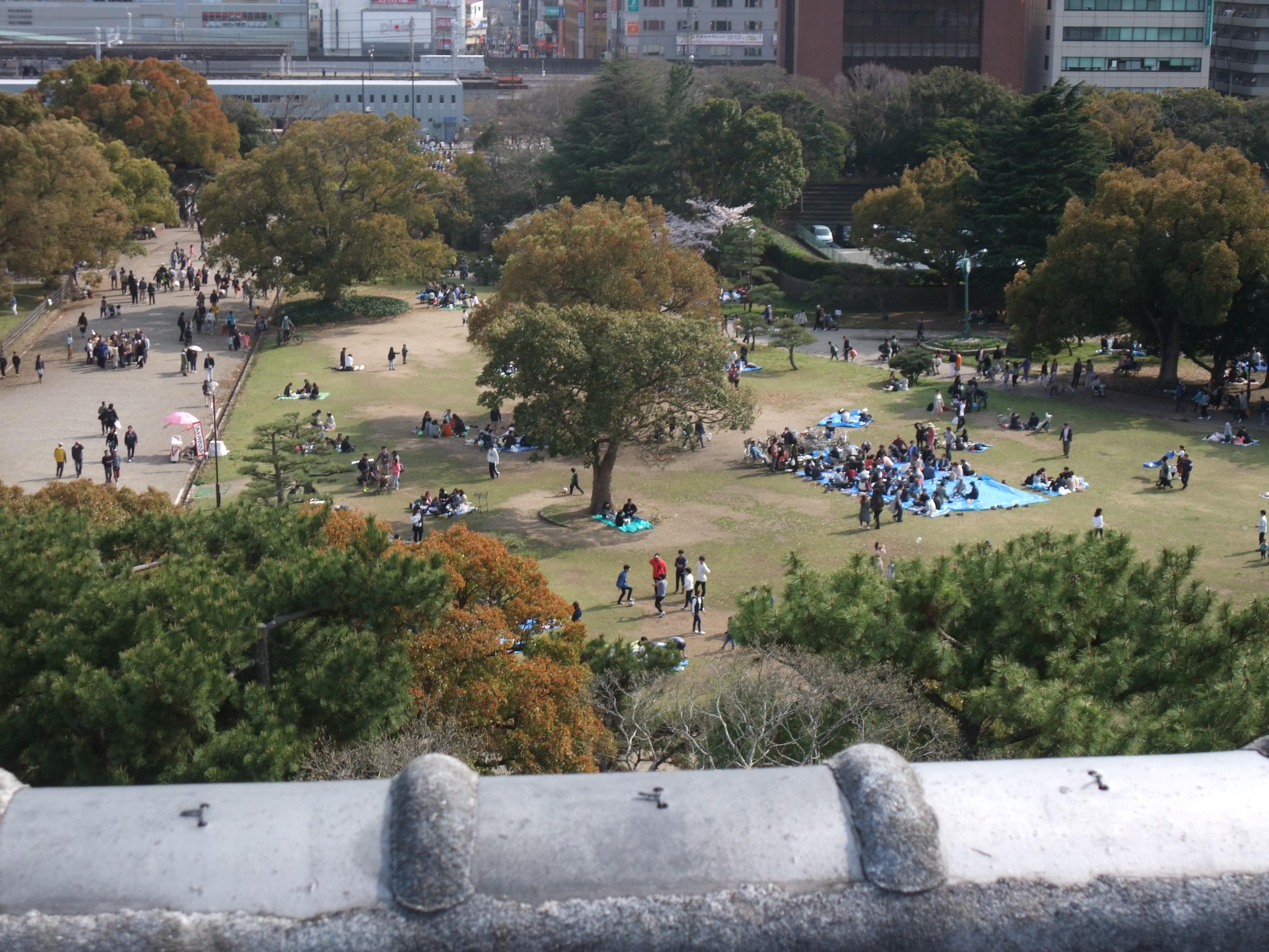 明石公園広場